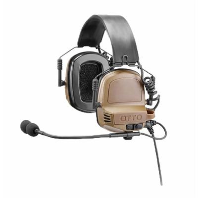 Otto Engineering Noizebarrier Tac Ear Muffs - Noizebarrier Tac Ear Muffs Fde