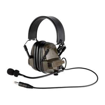 Otto Engineering Noizebarrier Tac Ear Muffs - Noizebarrier Tac Ear Muffs Od Green
