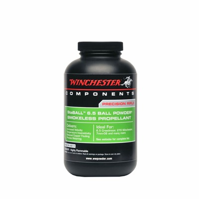 Winchester Staball 6.5 Smokeless Powder - Staball 6.5 Smokeless Powder, 1 Lb