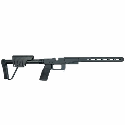 Xlr Industries Remington 700 Element 3.0 Magnesium Chassis - Remington 700 Short Action Chassis, Black
