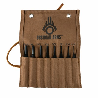 Obsidian Arms Standard Drive Pin 8-Piece Punch Set - Standard Drive Pin 8 Piece Punch Set
