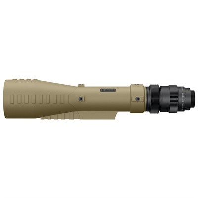 Athlon Optics Cronus Tactical 7-42x60mm Spotting Scope With Ranging Reticle - 7-42x60mm Straight Spotting Scope Tan