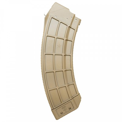 Us Palm Ak Magazines W/ Stainless Steel Latch Cage - Ak 30-Round Magazine W/Ss Latch Cage Fde