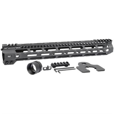 Midwest Industries Ar-15 Lightweight Handguards M-Lok - 14   Lightweight Handguard Black M-Lok