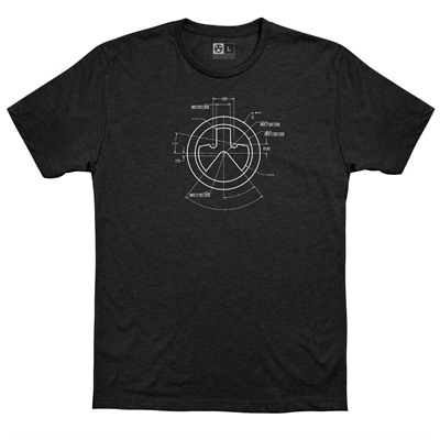 Magpul Engineered Cvc T-Shirts - Engineered Cvc T-Shirt 3x-Large Black