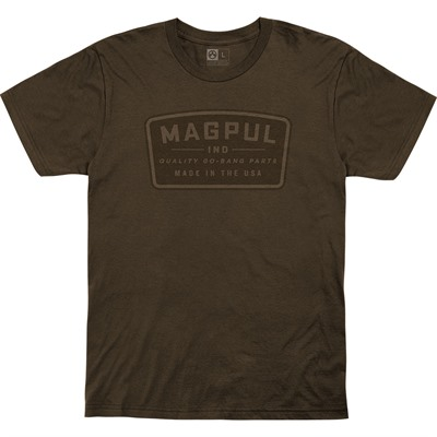 Magpul Go Bang Parts Cotton T-Shirts - Go Bang Parts Cotton T-Shirt Large Brown