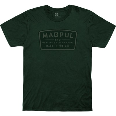 Magpul Go Bang Parts Cotton T-Shirts - Go Bang Parts Cotton T-Shirt Medium Forest Green