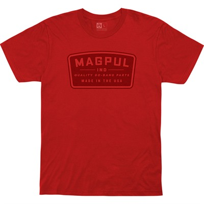 Magpul Go Bang Parts Cotton T-Shirts - Go Bang Parts Cotton T-Shirt Medium Red