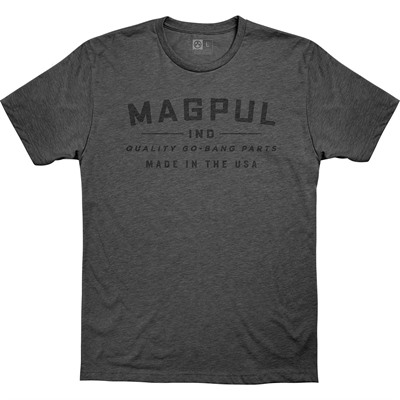 Magpul Go Bang Parts Cvc T-Shirts - Go Bang Parts Cvc T-Shirt 2x-Large Charcoal