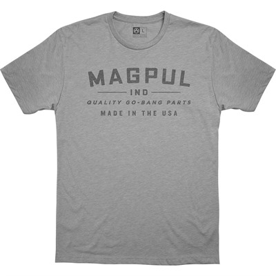 Magpul Go Bang Parts Cvc T-Shirts - Go Bang Parts Cvc T-Shirt Small Athletic Heather