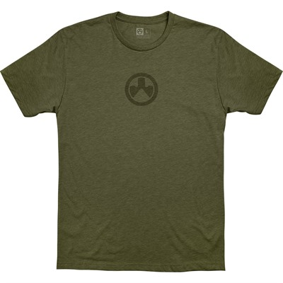 Magpul Icon Logo Cvc T-Shirts - Icon Logo Cvc T-Shirt Small Od Heather