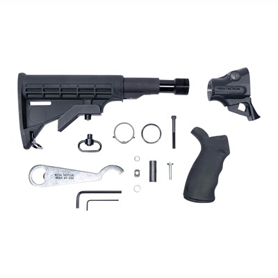 Mesa Tactical Products Remington V3/Tac-13 Leo Gen Ii Telescoping Hydraulic Recoil Stock - Leo Gen Ii Telescoping Hydraulic Recoil Stock Kit 12g