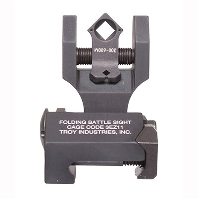 Troy Industries Ar-15 Di-Optic Flip-Up Sight - Ar-15 Di-Optic Tritium Folding Sight