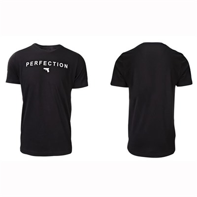 Glock Perfection Pistol T-Shirts - Perfection Pistol T-Shirt Black X-Large