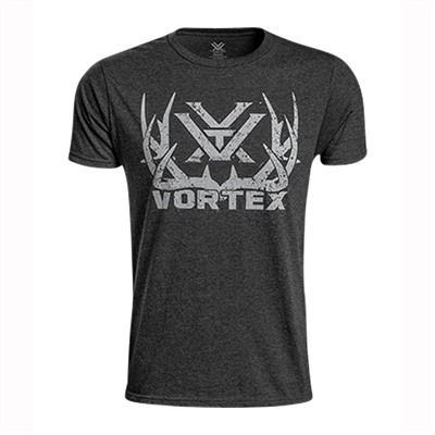 Vortex Optics Short Sleeve Full-Tine Job T-Shirts - Short Sleeve Full-Tine Job T-Shirt Charcoal Heather Lg