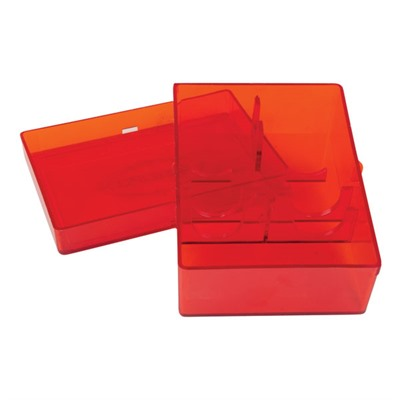 2-Die Replacement Storage Box - Lee Flat 2-Die Box Red
