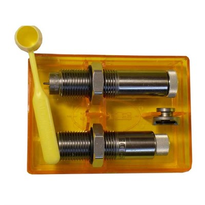 Lee Collet 2 Die Neck Sizer Sets 22 Hornet Collet 2 Die Neck Sizer Set