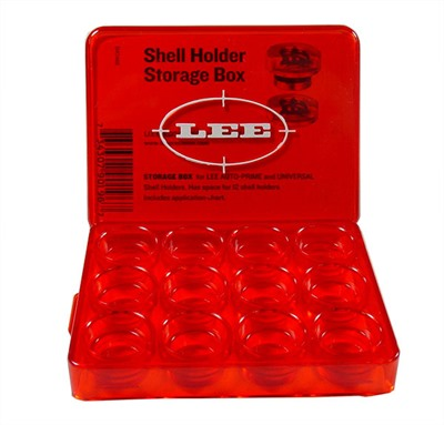 Lee Auto Prime Shellholders Lee Shellholder Storage Box U.S.A. & Canada