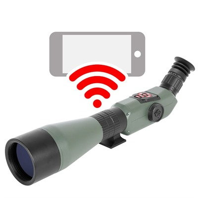 Atn X-Spotter Hd 20-80x Smart Spotting Scope - X-Spotter Hd 20-80x Smart Day/Night Spotting Scope