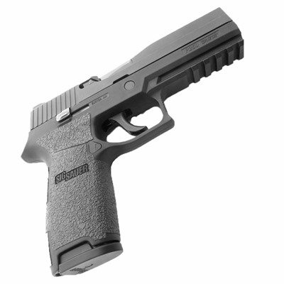 Talon Grips Inc Sig Sauer P250, P320 Full Size Grip Tape - Sig Sauer 250/320 Full Size Medium Grip Rubber Black