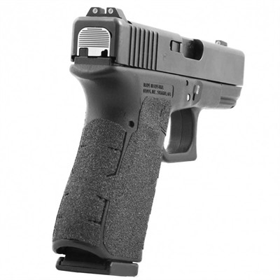 Talon Grips Inc Grip Tape For Gen 4 Glock - Grip Granulated Black For Med Gen 4 Glock 19,23,25,32,38