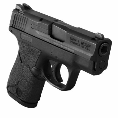 Talon Grips Inc S&W M&P Shield 9/40 Grip Tape - S&W M&P Shield 9/40 Grip Rubber Black