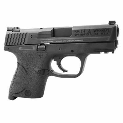 Talon Grips Inc S&W M&P Compact Medium Backstrap Grip Tape - S&W M&P Compact Medium Backstrap Grip Rubber Black