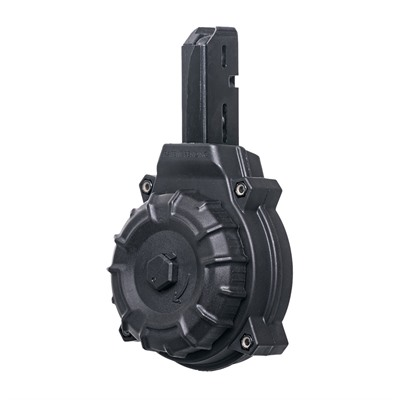 Pro Mag Ar-15 Smg Drum Magazine 9mm - Ar-15 Colt/Smg Type 50rd Drum Magazine Polymer Black