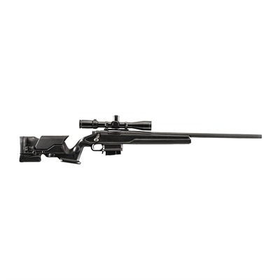 Pro Mag Archangel Rem 700 Precision Stocks  W/ Aluminum Bedding - Stock Aluminum Pillar Bedding W/ 10rd Mag Black