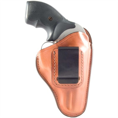 Bianchi (Safariland) #100 Professional  Inside The Waistband Holster - #100 Professional Iwb S&W J-Frame, Ruger Sp101 Tan Rh