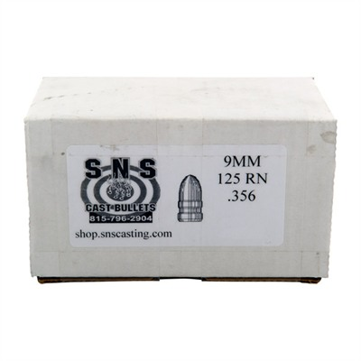 Sns Cast Bullets S&S Cast Pistol Bullets - 9mm (.356
