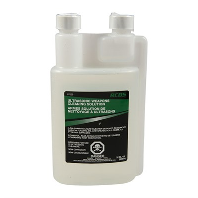 Ultrasonic Case Cleaner - Ultrasonic Gun Cleaning Solution, 32 Oz.