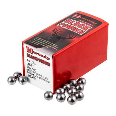 Hornady Round Ball Muzzleloading Bullets - 44 Cal (.451
