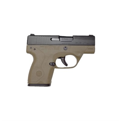 Beretta Usa Nano 3.07in 9mm Pronox Fde 6+1rd