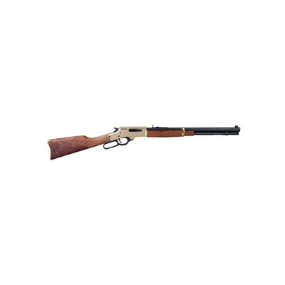 Henry Repeating Arms 30-30 Lever 20in 30-30 Winchester Brass Frame/Blue 5+1rd - 30-30 Lever 20in 30-30 Winchester Brass Frame/Blue 5+1