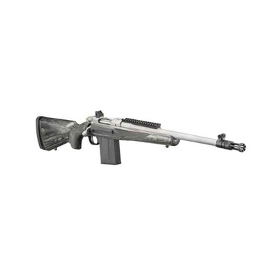 Ruger Gunsite Scout Left Hand 18in 308 Winchester Stainless 10 1rd Gunsite Scout Left Hand 18in 308 Winchester Matte Stainless
