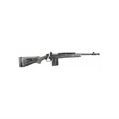 Ruger Gunsite Scout Rifle 16.1in 5.56x45mm Nato Matte Black 10 1rd Gunsite Scout Rifle 16.1in 5.56x45mm Nato Matte Black 10