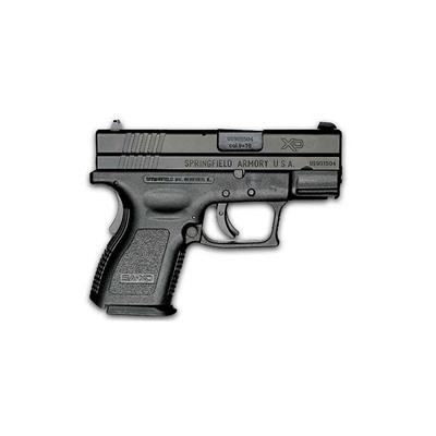 Springfield Armory Xd Sub-Compact Essentials Pack 3in 9mm Black 13+1rd