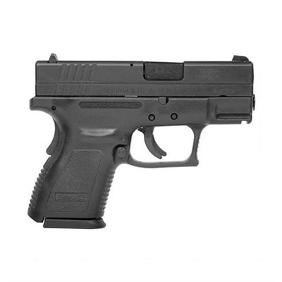 Springfield Armory Xd Sub Compact Essentials Pack 3in 40 S&W Black 9 1rd Xd Sub Compact Essentials Pack 3in 40 S&W Black 9 1