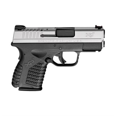Springfield Armory Xd-S Essentials Package 3.3in 45 Acp Melonite 5+1rd