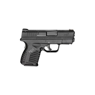 Springfield Armory Xd-S Essentials Package 3.3in 9mm Polymer 3 Dot Fixed 8+1rd