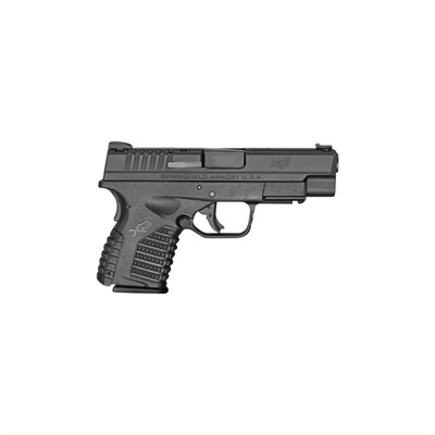 Springfield Armory Xd-S Essentials Package 4in 45 Acp Black 6+1rd