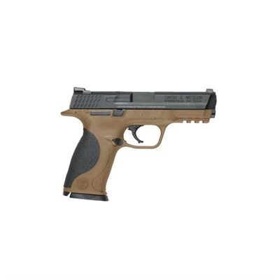 Smith & Wesson M&P40 4.25in 40 S&W Melonite Fde Steel Novak Lomount Carry 15+1rd