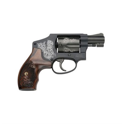 Smith & Wesson 442 Engraved 1.875in 38 Special Blue 5rd