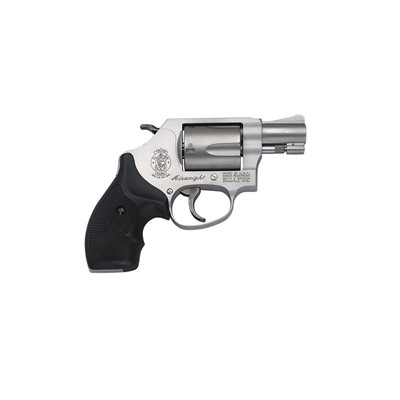 Smith & Wesson 637 1.875in 38 Special Matte Silver Rubber Fixed 5rd