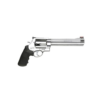 Smith & Wesson 500 8.38in 500 S&W Magnum Ss Black Synthetic Hi-Viz Red Dotrd