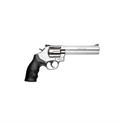 Smith & Wesson 686 6in 357 Magnum Satin Stainless 6rd