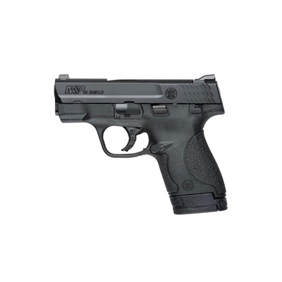 Smith & Wesson M&P40 Shield Safety 3.1in 40 S&W Melonite Polymer White Dot 7 1rd M&P40 Shield Safety 3.1in 40 S&W Melonite Polymer White Dot