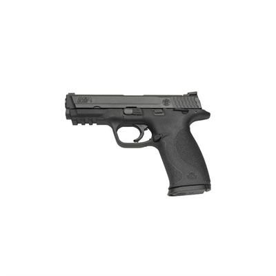 Smith & Wesson M&P9 4.25in 9mm Black Melonite Black Polymer Fixed 17+1rd