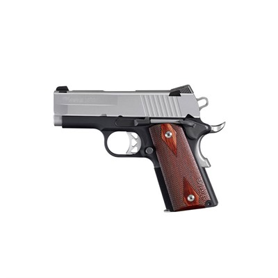 Sig Sauer 1911 Ultracompact 3.3in 45 Acp Stainless 7 1rd 1911 Ultracompact 3.3in 45 Acp Stainless 7 1